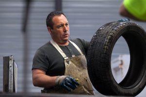 le tri des pneus usagés tourisme