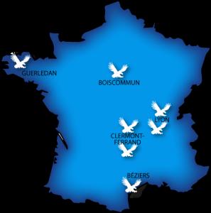 Carte France Raffin